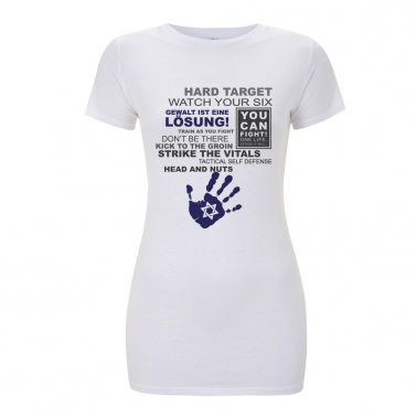 Frauen T-Shirt - Krav Maga Statement