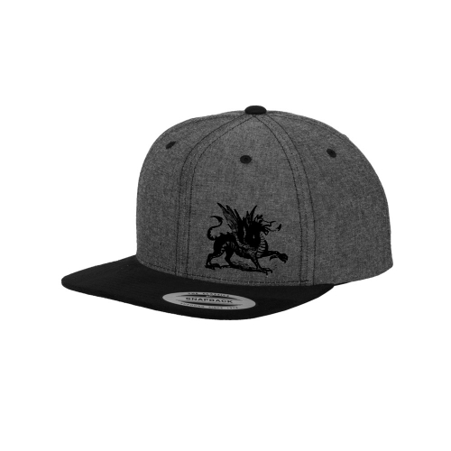 Chambray Cap - Frankers Fight Team Dragon Design